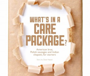 Whats in a care package